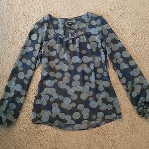 (3 for $15) Sheer blouse